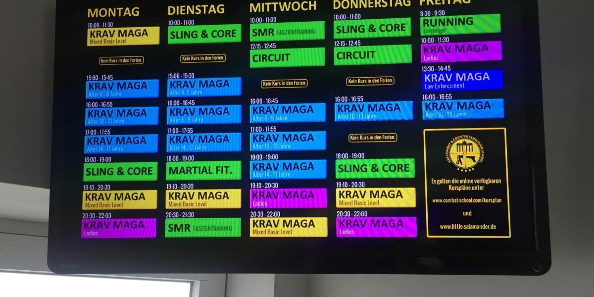 Combat & Counterterrorism School Berlin Newsboard Krav Maga