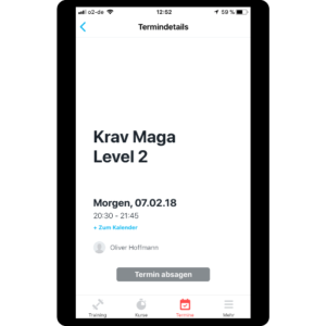 no excuse Krav Maga app ios
