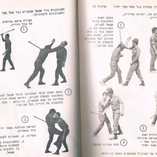 Krav Maga Manual Original Streetwise Academy Hebrew Berlin