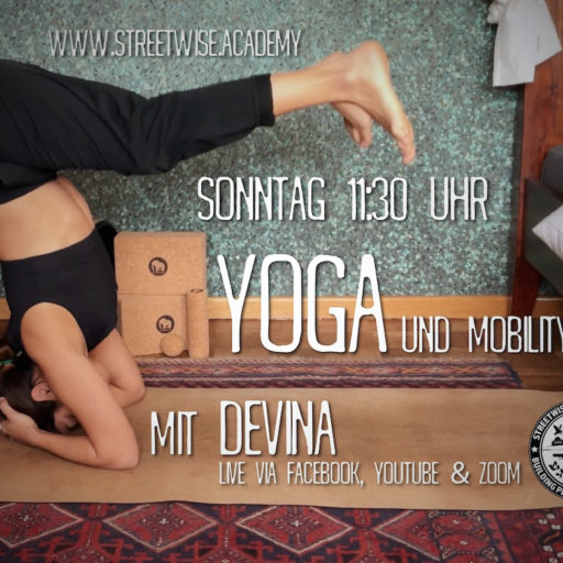 Yoga devina streetwise academy st home woo workout mobility training