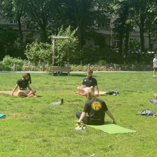 yoga streetwise academy Devina Berlin Training mobility